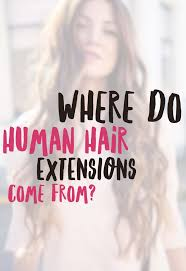 www hairsnips com old human hair extensions where does hair come from