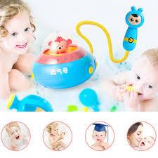 Bathtub Submarine Toy Electronic Remote Control Bathing Toys Sprinkler Bathtub Submarine