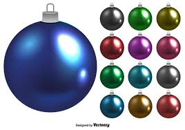 christmas balls cutted christmas balls free vector stock graphics
