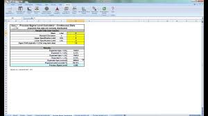 Capability Study Excel Template Process Capability Templates In Sigmaxl
