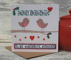merry christmas to my husband christmas cards