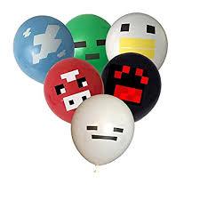 minecraft balloons minecraft balloons