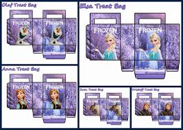 printable paper bags frozen free printable paper bags in lilac oh my fiesta in english