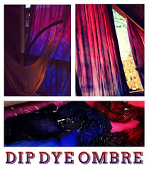 Curtains With Purple In Them Dip Dye Ombré Curtains Dip Dyed Easy And Dips