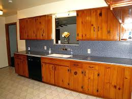 Knotty Pine Kitchen Cabinet Doors Knotty Pine Cabinets Vintage Knotty Pine Kitchen Knotty Pine