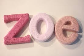 yarn wrapped letters for baby u0027s room repeat crafter me