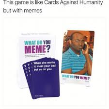 Meme Board Game - what do you meme toys games board games cards on carousell