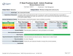 utilization report template audit sle report