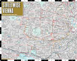 map of vienna streetwise vienna map laminated city center map of vienna