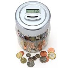amazon black friday coins gift house int digital uk coin counting money jar amazon co uk