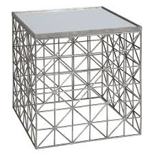 Silver Accent Table Best 25 Silver Side Table Ideas On Pinterest Metallic Gold
