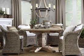 Indoor Wicker Dining Room Sets - Wicker dining room chairs