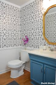 bathroom stencil ideas mansion house grille trellis wall stencil wall stenciling thrift