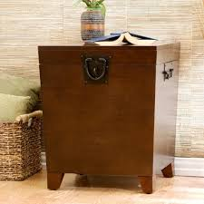 Storage Table For Living Room Classic Living Room Style With Upton Home Pyramid Trunk End Table