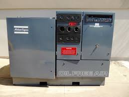 used atlas copco 150 hp model zr3 67 air compressor air