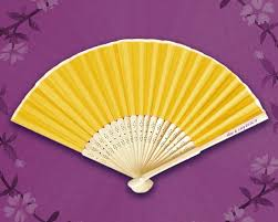 silk fans imprinted personalized silk fans free personalization