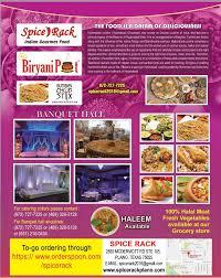 Spice Rack Plano Restaurants Dallas Indian
