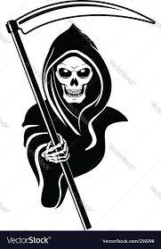 grim reaper royalty free vector image vectorstock