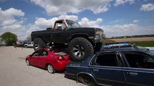 chevy truck car chevy monster truck car crush video 8 youtube