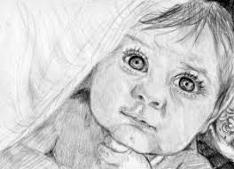 how to draw a realistic baby step by step realistic drawing