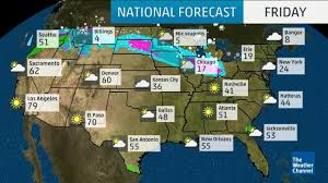 Weather Map Us Weather Maps Usa New Weather Map North West Usa Stock Video