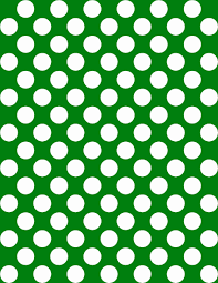 green repeating halloween background polka dot background