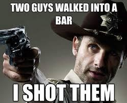Walking Dead Birthday Meme - 20 comical the walking dead memes sayingimages com