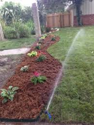 Landscaping Wood Chips landscaping ideas irrigation wichita irrigation services