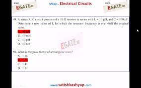 300 objective questions on network theory 1 q 1 100 with