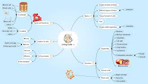 Mind Map Examples Living Cells Matchware Examples