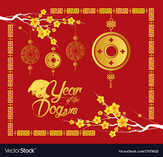 new year coin happy new year 2018 card gold coin year vector image