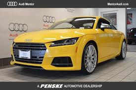 audi dealers cleveland ohio used 2017 audi tts for sale in cleveland oh edmunds