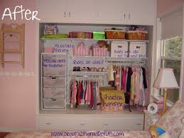 toddler closet storage ideas