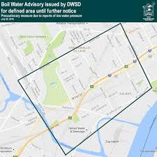 Detroit Zip Codes Map by Southwest Detroit Issued Boil Water Advisory After Main Break