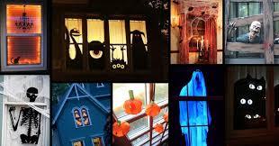 Halloween Window Lights Decorations - halloween window decorations ideas to spook up your neighbors