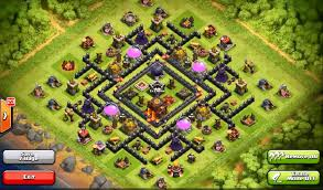 layout vila nivel 9 clash of clans top 10 clash of clans town hall level 9 defense base design clash