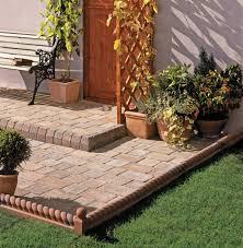 raised garden edging ideas home outdoor decoration patio edging ideas love the garden victorian rope edging around a garden patio