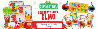 1st birthday party supplies elmo s 1st birthday party ideas supplies and decorations