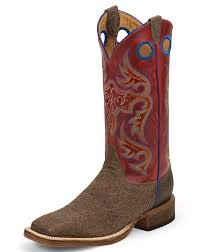 s justin boots on sale justin s bent rail 13 square toe boots brown