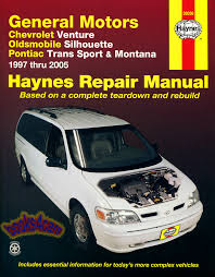 chevrolet venture shop service manuals at books4cars com