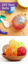 crafts for home decoration fun with yarn crafts ideas yarn ball yarns and craft