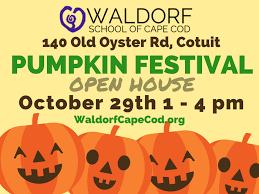 Cape Cod Weather October - pumpkin festival open house