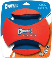chuckit kick fetch large chewy