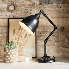 Library Table Lamps Galvanized Task Lamp Pbteen