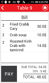 buy restaurant waiter template for android food u0026drink and