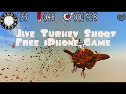 jive turkey shoot iphone app review gameplay thanksgiving