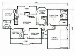 4 bedroom house plans 1 story 5 3 2 bath floor best farm luxihome