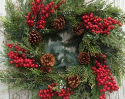 large christmas and christmas wreaths etsy
