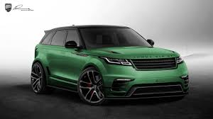 land rover velar 2018 white and black lumma design clr rs range rover sport gtspirit