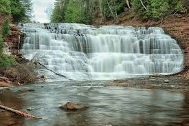 Michigan Waterfalls images Waterfall wednesday agate falls on the ontonagon river michigan jpg
